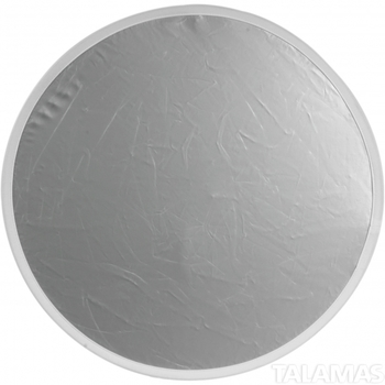 "Rent FlexFill Collapsible Reflector - 38"" Circular - Silver/White Reversible - 38-2"