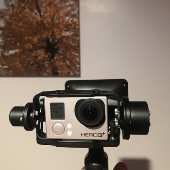 Rent GoPro Hero 3+ Black with Auto Stabalizing Gimbal and Filters