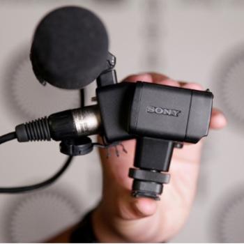 Rent Sony XLR-K2M XLR Adapter Kit with Microphone
