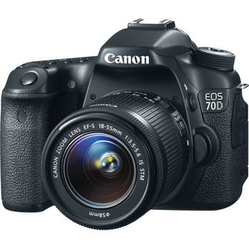 Rent EOS 70D EF-S 18-55mm IS STM Lens Kit