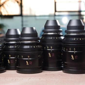 Rent Cooke Mini S4/i Prime Lens Set