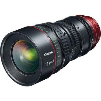Rent Canon CN-E 15.5-47mm T2.8 L S (PL or EF Mount)