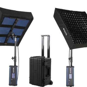 Rent Intellytech LiteCloth 2x2 Foldable 1500w (Each) Equivalent LED  Kit