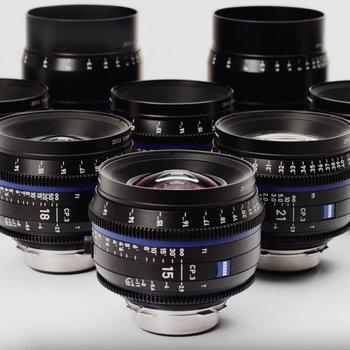 Rent ZEISS CP3 Full-Frame PL Lens Set/6