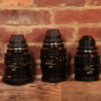 Rent Cooke Mini S4 - Set of (3) PL Lenses: Coated or Uncoated