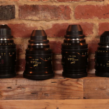 Rent Cooke Mini S4 PL Lenses: Set of 4