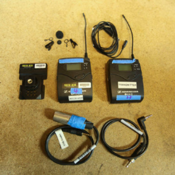 Rent Sennheiser G3 Wireless Lavalier