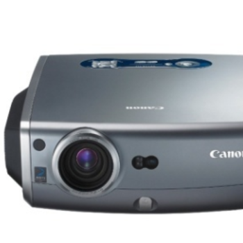 Rent Canon Mark II Projector and Da-Lite Screen Package