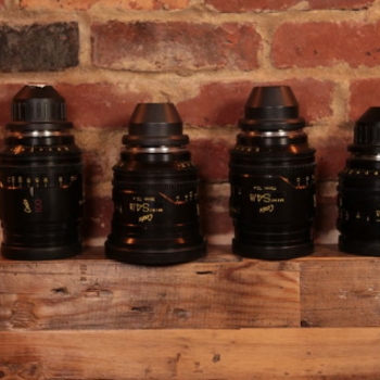 Rent Cooke Mini S4 Uncoated Set of (4) Lenses