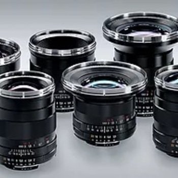Rent Zeiss ZF Prime Lens Set of 6