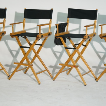 Rent 4 Telescope Tall Directors Chairs