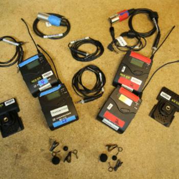 Rent 2-Kit Sennheiser G3 Wireless Lavalier