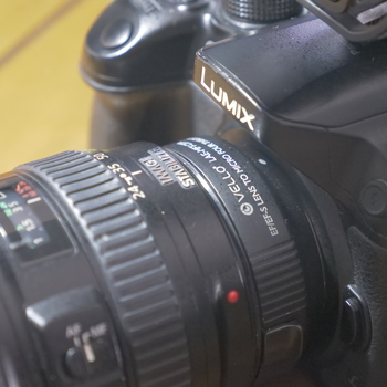 Rent Gh4 + Canon 24-105mm f4 + Vello Speedbooster + Rode VideoMic