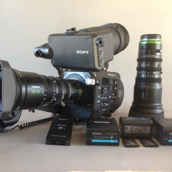 Rent Sony FS7 with lightweight Fujinon Cinema zooms