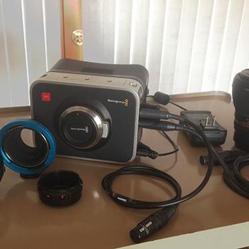 Rent Blackmagic Cinema 2.5k with PL and MFT mounts, 16mm F2 lens