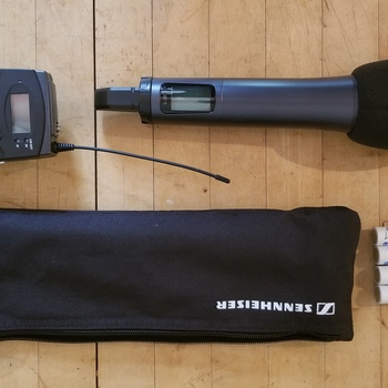 Rent Sennheiser EW135P G3 Wireless Handheld Mic (Great for interviews!)