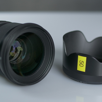 Rent Sigma 50mm 1.4 Art Lens for Canon