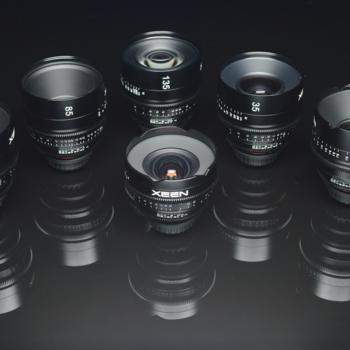 Rent Xeen Cinema Lens Kit