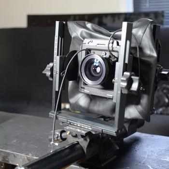 Rent 4x5  large format film camera