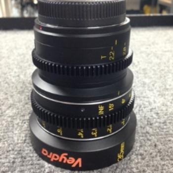 Rent Veydra 35mm Lens (M4/3 or E-Mount)