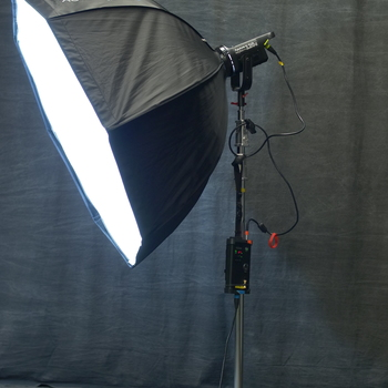 Rent Aputure 120d 3 Light Fresnel/Softbox kit