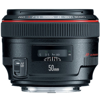 Rent Canon EF 50mm f/1.2L USM