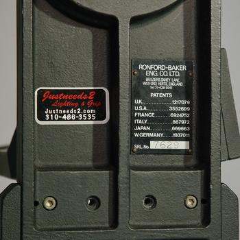 Rent Ronford Baker F7 MK III Nodal Fluid Mitchell Pan Tilt Head