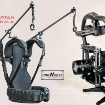 Rent MoVI Pro + 8x Batts + Ready Rig w/ Pro Arms + CineMilled