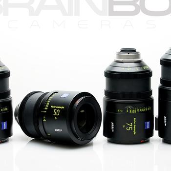 Rent Arri / Zeiss Master Anamorphic Lenses - 4 Lens Set
