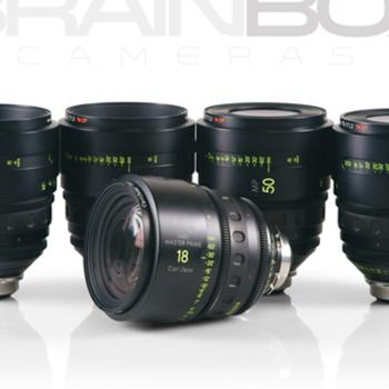Rent Arri / Zeiss MASTER PRIMES - 5 Lens Set