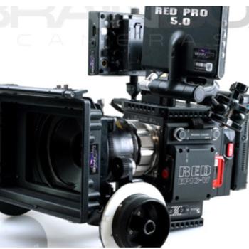 Rent RED EPIC-W Helium 8K Camera - Full Package w/ AKS + LENS