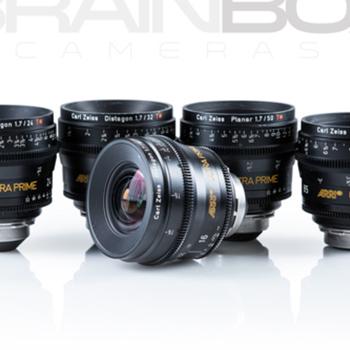 Rent ARRI / Zeis ULTRA Primes - 5 Lens Set - Beautiful Condition