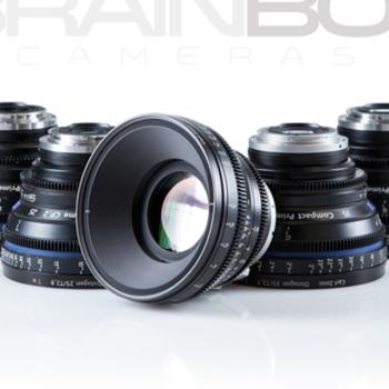 Rent ZEISS / Arri Compact Primes CP.2 - 5 Lens Set