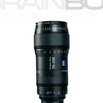 Rent Zeiss CZ.2 Compact Zoom 70-200mm T2.9 - Full Frame Coverage!