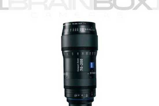 Rent A Zeiss Cz.2 Compact Zoom 70 200mm T2.9 Full Frame Coverage! In ...