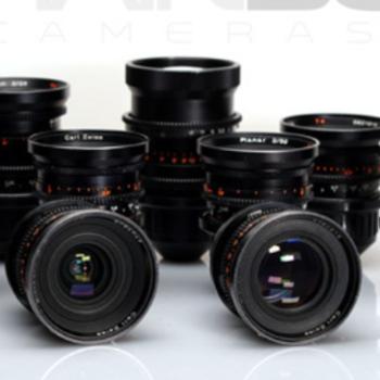 Rent Zeiss Standard Speeds 9 Lens Set Incl. Macro Modded Lenses