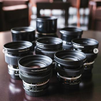 Rent Canon EF Mount Nikon Cine-mod prime Lens Set