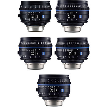 Rent Zeiss CP.3 Lens Set - Choose Any 5