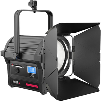 Rent Rayzr 7 300W Daylight LED Fresnel w/ Softbox, Stand, Sandbags & Extension