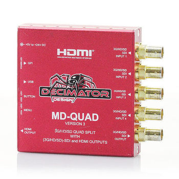 Rent Decimator MD-Quad V3 - SDI Quad Splitter