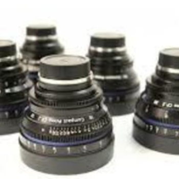 Rent Zeiss Compact Prime CP.2 5 Lens Set 21,25,35,50,85mm