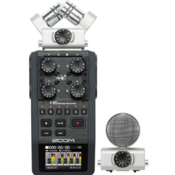 Rent Zoom H6 Handy Recorder -Interchangeable Microphone Syste