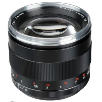 Rent Zeiss Telephoto 85mm f/1.4 ZE Planar T* Canon Mount
