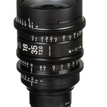 Rent Sigma 18-35mm T2 Cine High-Speed Zoom Lens (PL)