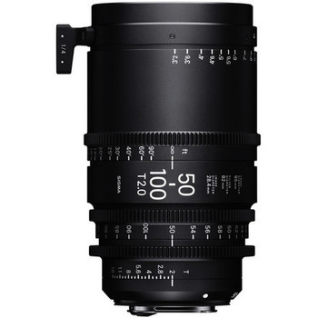 Rent Sigma 50-100mm T2 Cine High-Speed Zoom Lens (PL)