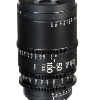 Rent Sigma 50-100mm T2 PL Mount