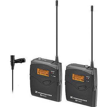 Rent Sennheiser G3 Wireless Lavalier Kit with ME2 Lavalier Mic