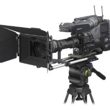 "Rent Sony PDW-F800 XDCAM HD422 2/3"" 3CCD Camera"