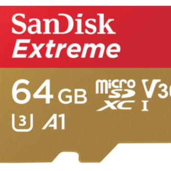 Rent SanDisk 64GB Extreme UHS-I microSDXC Memory Card