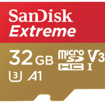 Rent SanDisk 32GB Extreme UHS-I microSDHC Memory Card
